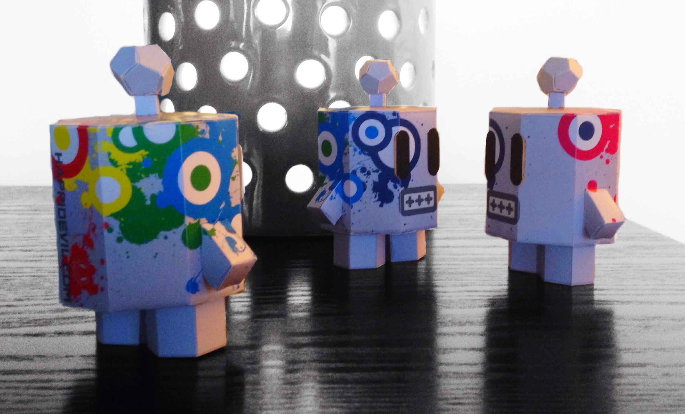 Mr Roboto Graffiti Pride